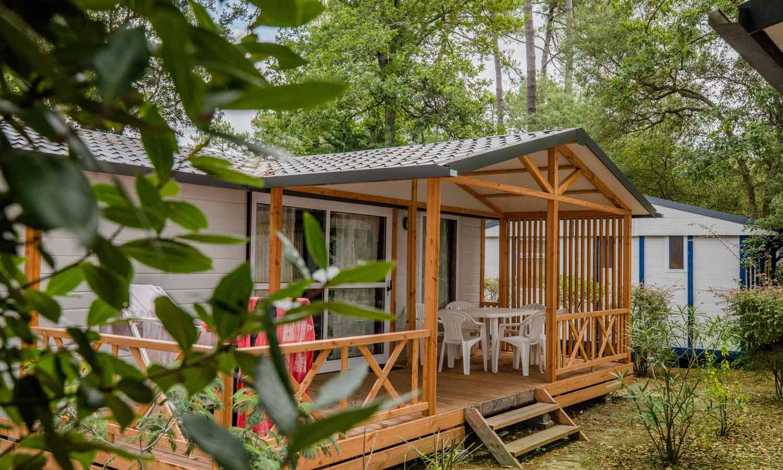 location camping hébergements landes