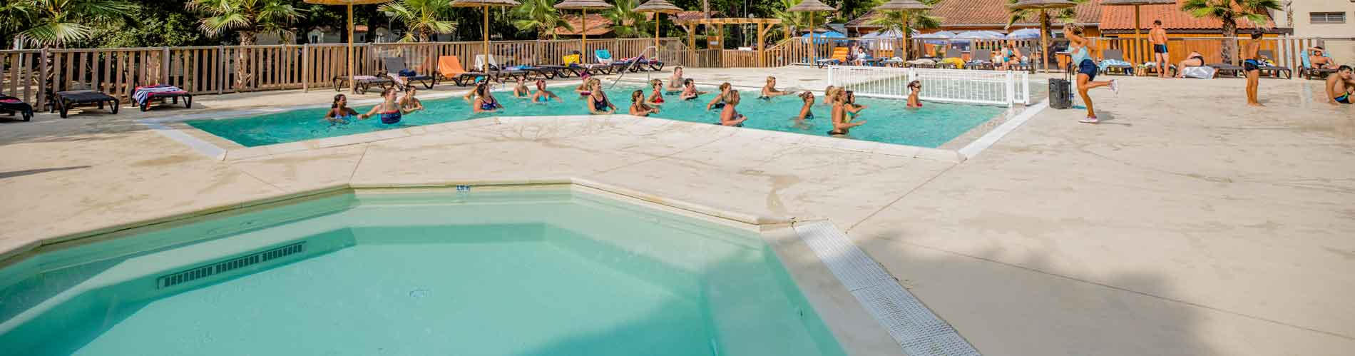 location camping jacuzzi landes