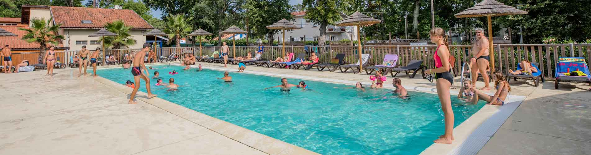 hiring heated swimming pool ondres