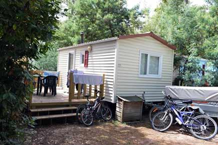 Mobil home Famille Landes