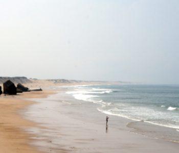 Landes bord de plage