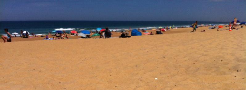 Camping proche de la plage ondres