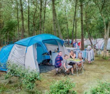 Camping avec emplacement pour vacances à Ondres plage