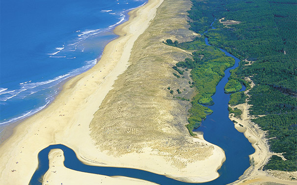 camping landes bord de mer