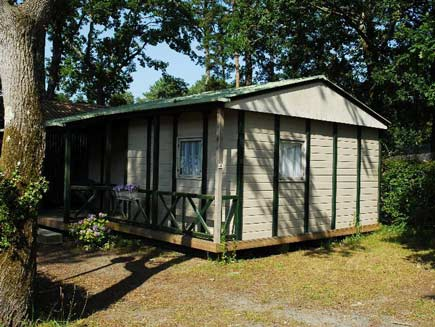 camping location chalet 3ch landes
