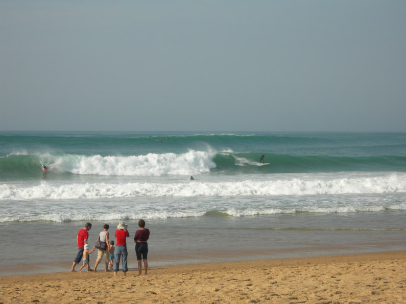 Hossegor plage location
