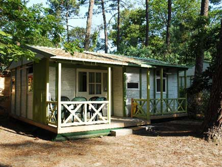 Camping chalet familial ondres plage