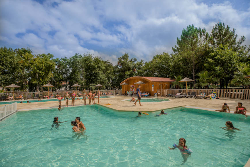 zwembad camping ondres