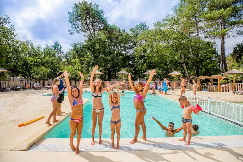 camping 4 étoiles dans les Landes avec piscine