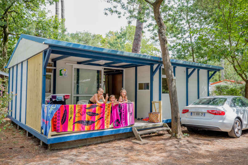 Cheap mobile home in the Landes beachfront