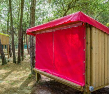 Camping 4 étoiles dans les Landes avec tente