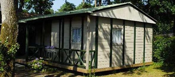 camping vermietung chalet 3ch landes