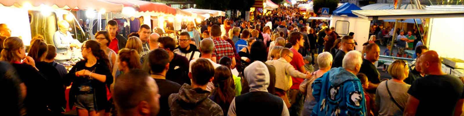 Les marchés nocturnes dans les Landes