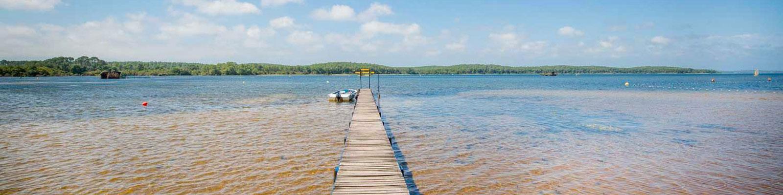 meilleurs lacs des Landes