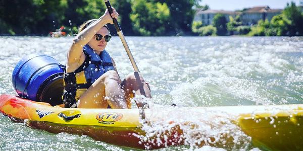 Location de canoë-kayak à Sorde L'abbaye