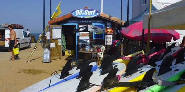 Ecole de surf à Ondres - Go & Surf