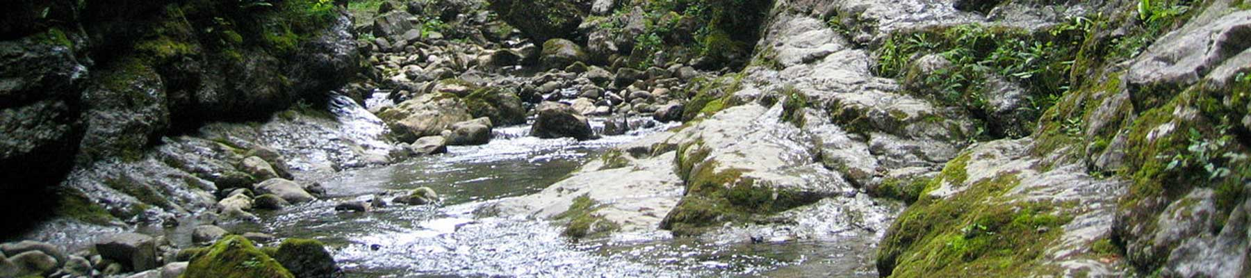 Les gorges de Kakuetta