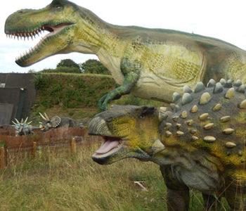 dinosaures parc landes