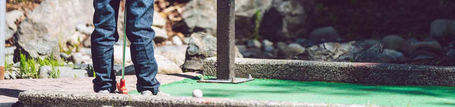 mini-golf enfants Ondres