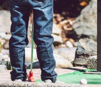 mini-golf enfant Ondres